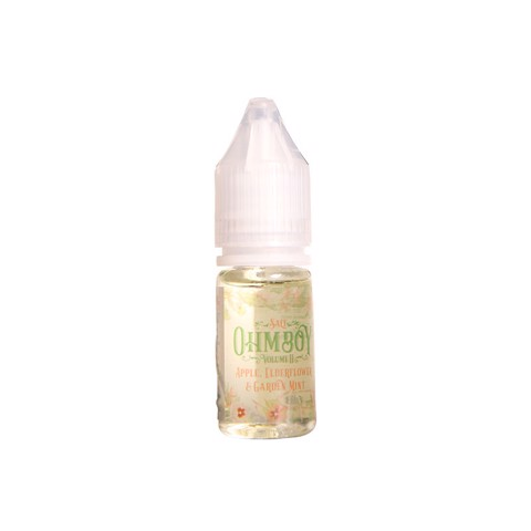 Apple, Elderflower & Garden Mint Salt Nic by OhmBoy (10ml) (Táo hoa elder bạc hà)