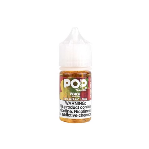 Peach Salt Nic by PoP Clouds (30ml)(Kẹo đào)