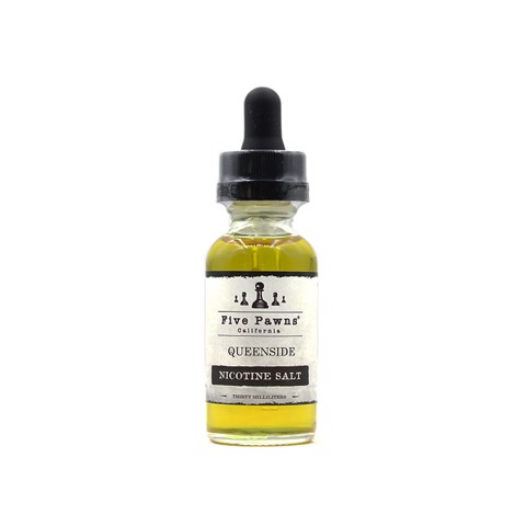 Queenside Salt Nic by Five Pawns (30ml) (Cam đỏ vani)