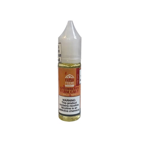 Strawberry Farm Cake Salt Nic by Fresh Farms (15 ml) (Bánh dâu)