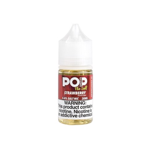 Strawberry Salt Nic by PoP Clouds (30ml)(Kẹo dâu)