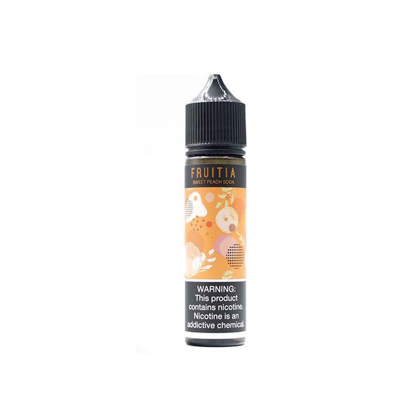 Sweet Peach Soda by Fruitia (60ml)(Soda đào)
