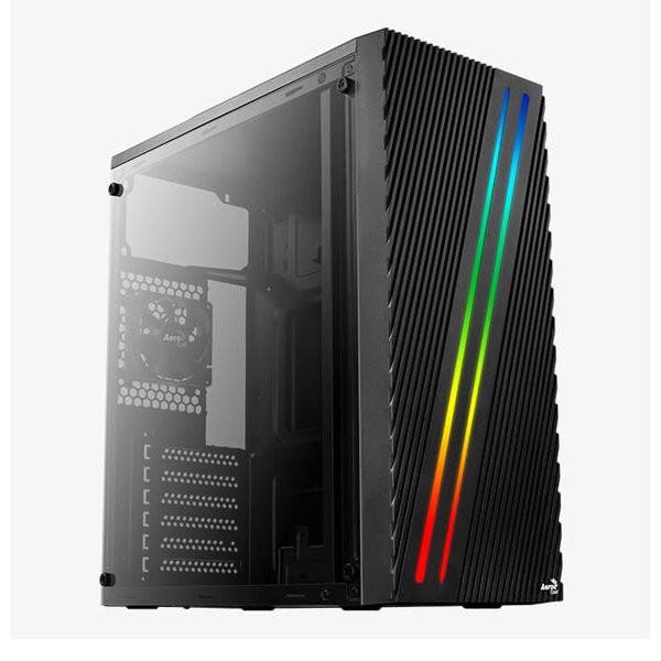 Case Aerocool Streak LED RGB (Tempered Glass)