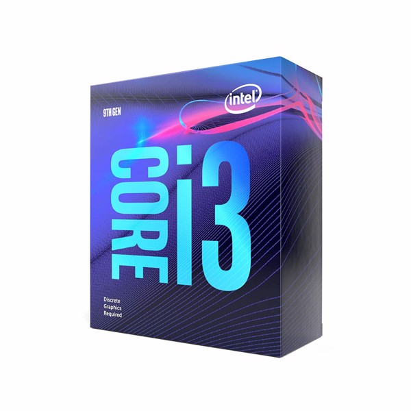 CPU Intel Core i3-9100F (3.6Ghz - 4.2Ghz) BOX CTY