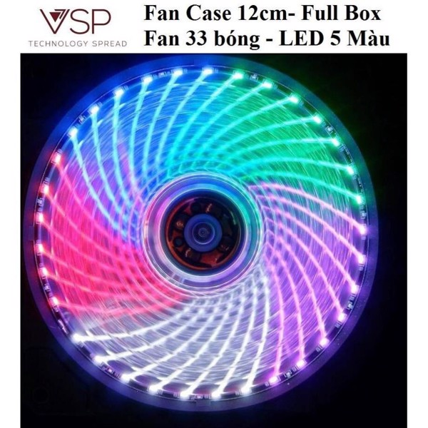 Fan Case VSP LED 5 màu