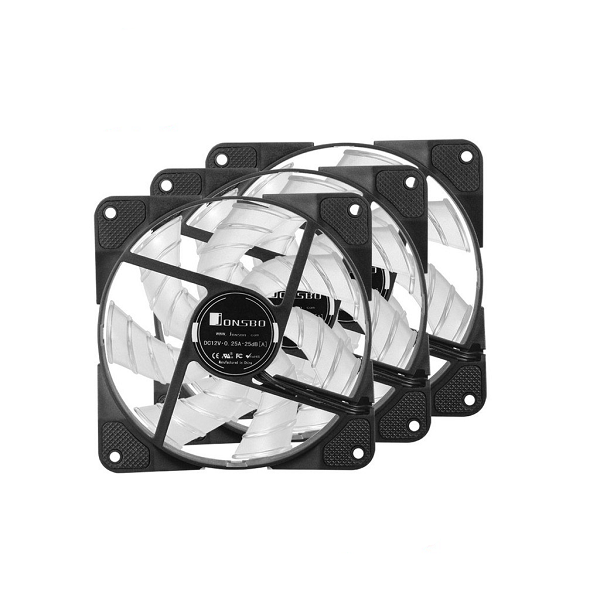 Fan Case JONSBO FR531 RGB (Combo 3 Fan + Hub)