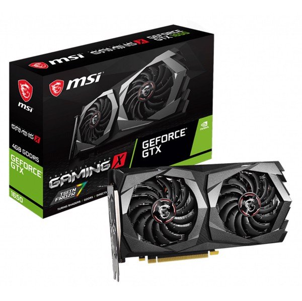 Card màn hình MSI GeForce GTX1650 GAMING X 4GB