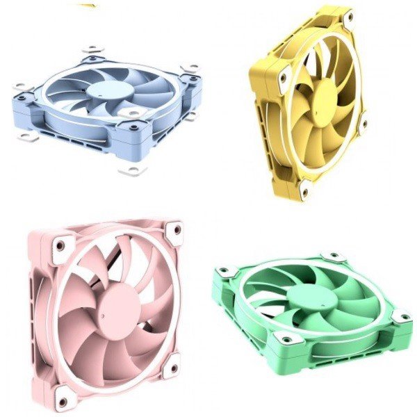 FAN CASE ID-COOLING ZF-12025 PASTEL (BLUE, PINK, GREEN)