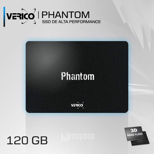 SSD VERICO Phantom 120GB SATA III 2.5