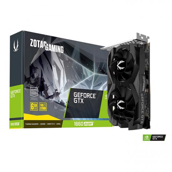 Card màn hình Zotac GTX 1660 Super Twin Fan 6GB (ZT-T16620F-10L)