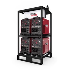 Trạm máy hàn | 750A | FLEXTEC® 650X MULTI-PROCESS WELDER WITH CROSSLINC™ 4-PACK RACK
