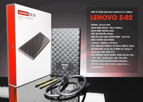 HDD Box 2.5 Lenovo S-02