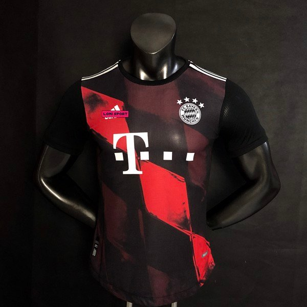 Áo Bayern Munich đen 3rd 20/21 SF - Player Issue