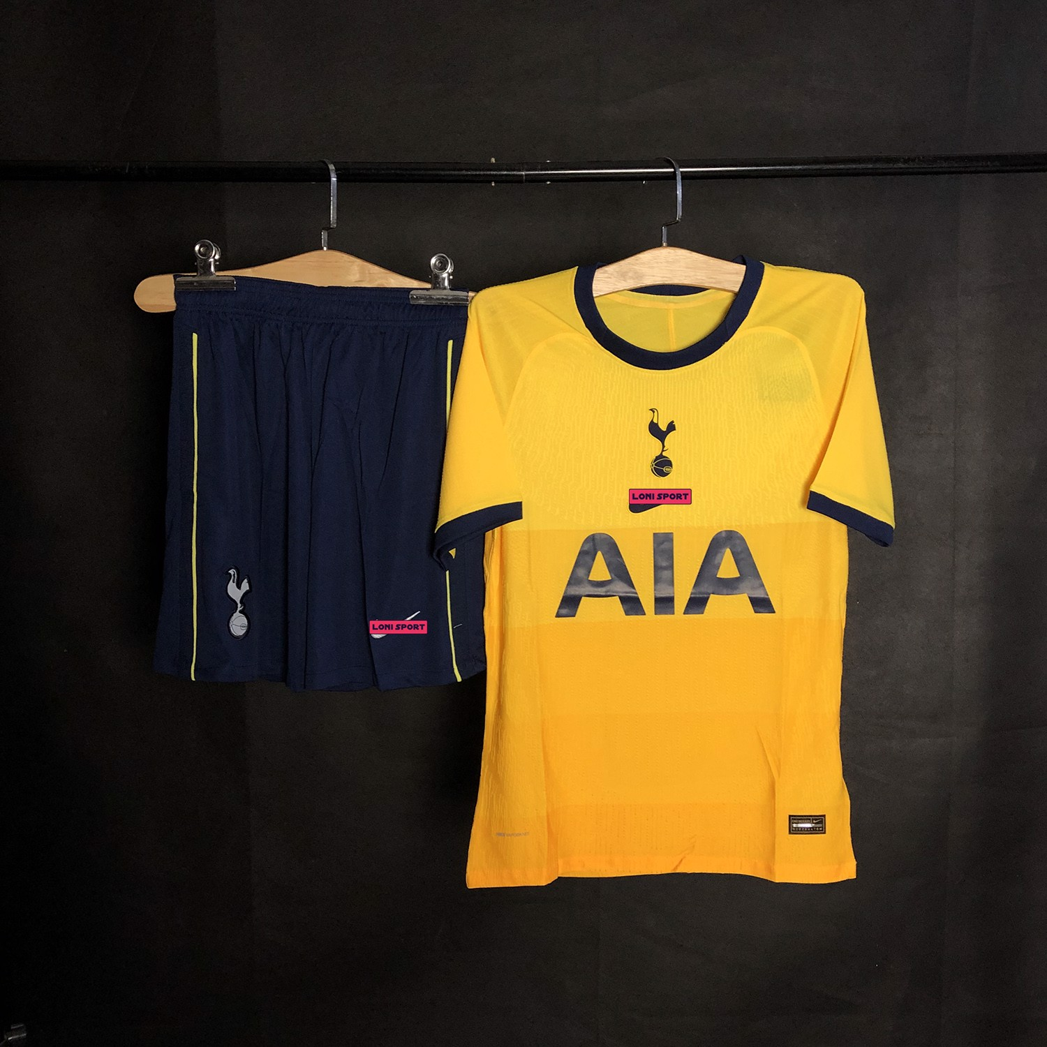 Áo Tottenham vàng 3rd 2020/21 SF -  Player Issue