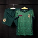 Áo Italia xanh 3rd Euro 2021 SF - Player Issue