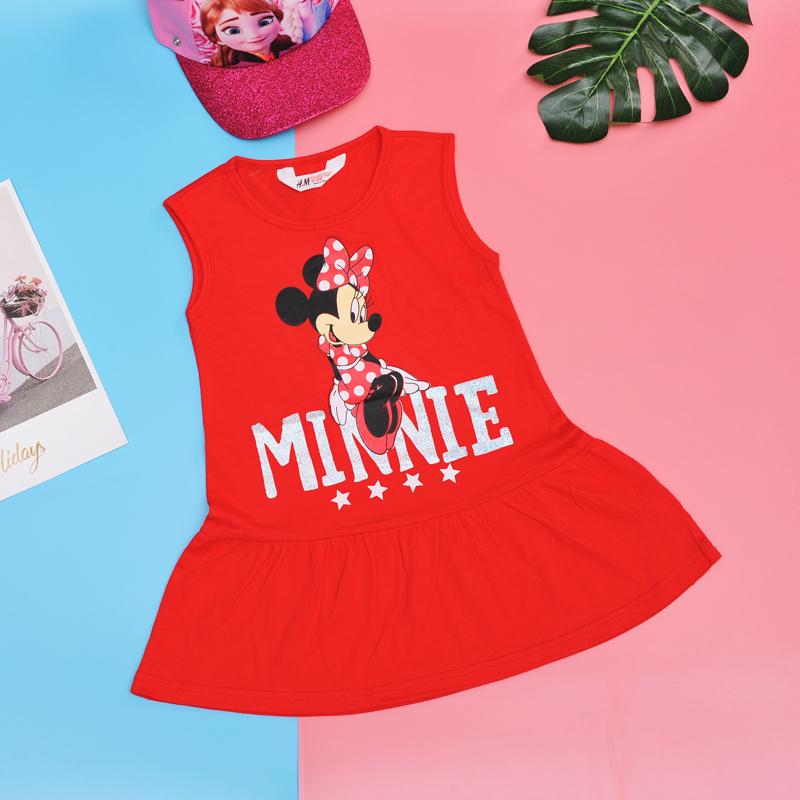 Đầm HM sát nách Mickey