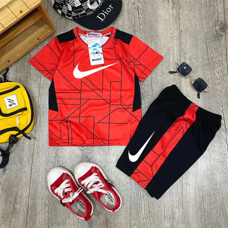 Bộ Nike kẻ sọc