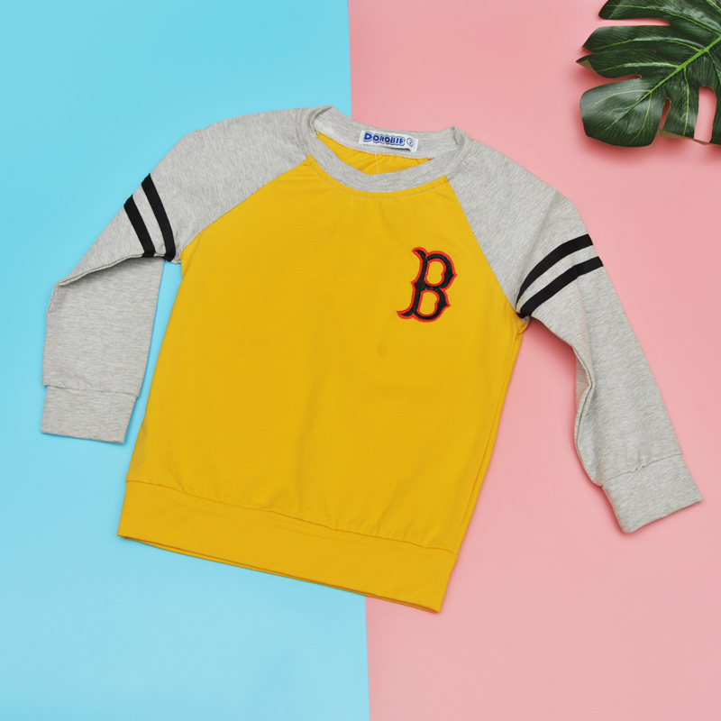 Áo dài tay bé trai chữ B (NY)