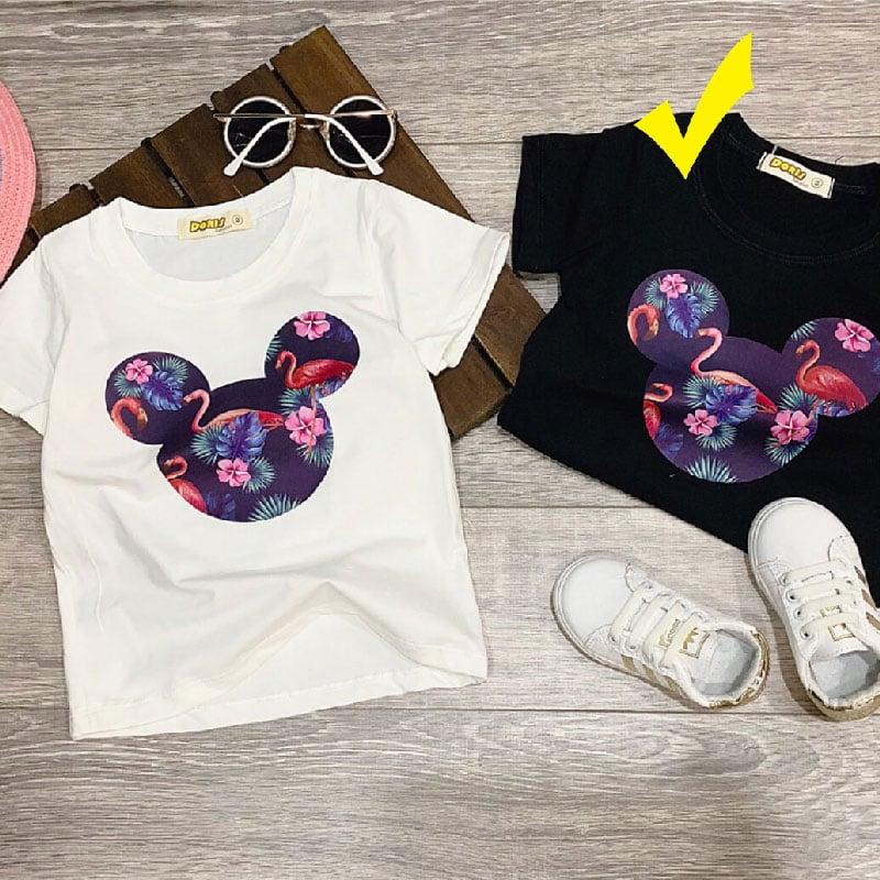 Áo Mickey con hạt cho bé gái