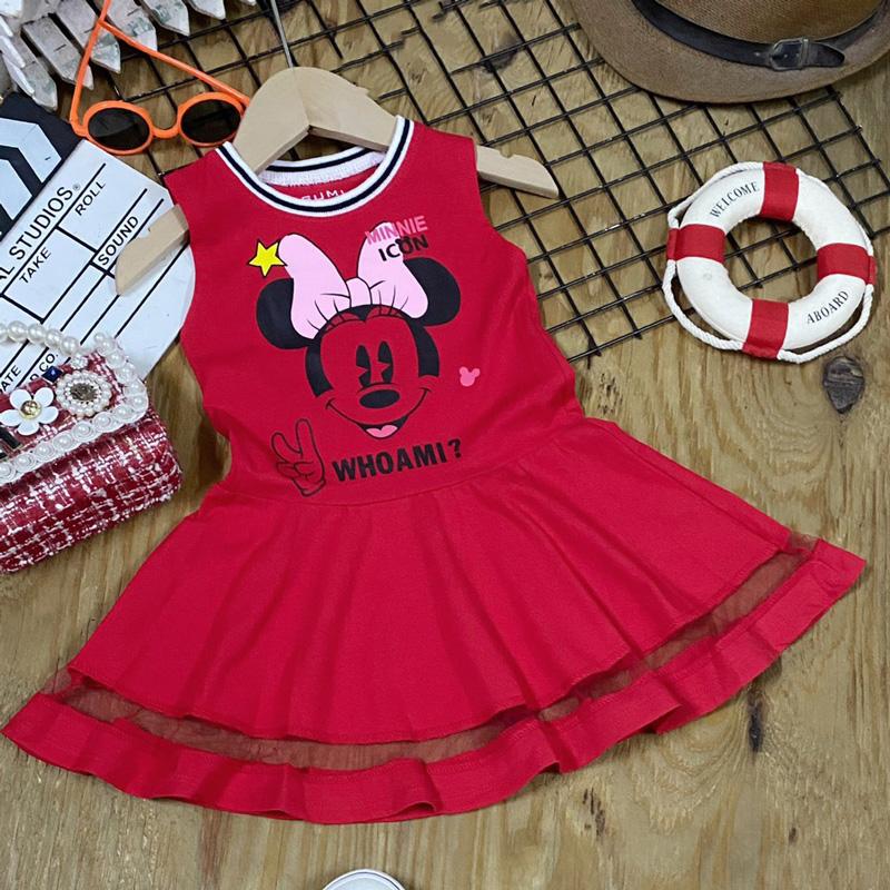Đầm sát nách Mickey