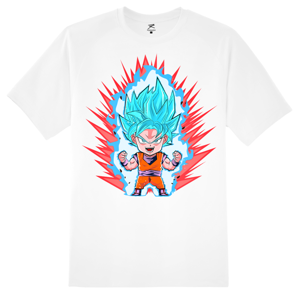 [Chibi]  Goku SuperSaiyan Blue x TeeK