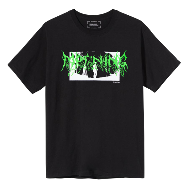 Isolation Tee - Black/Green