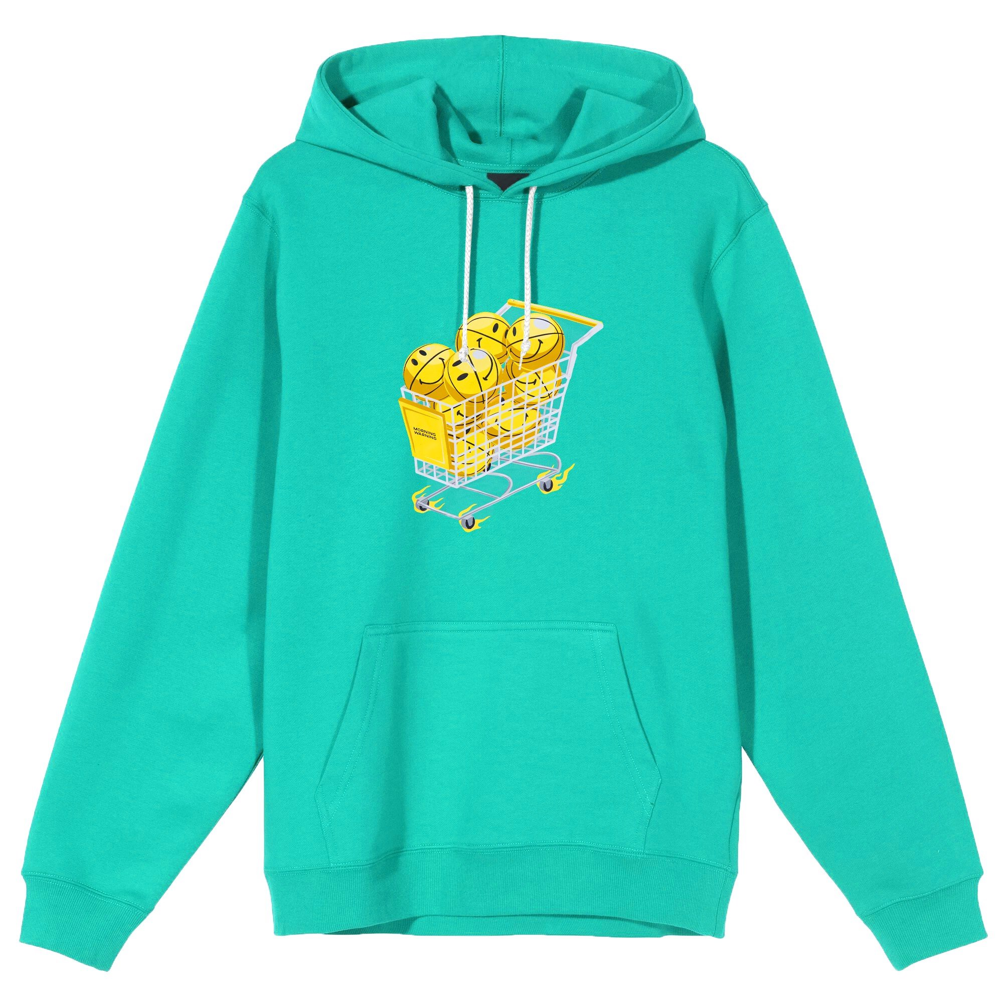 Most Wanted Trolley Hoodie - Mint