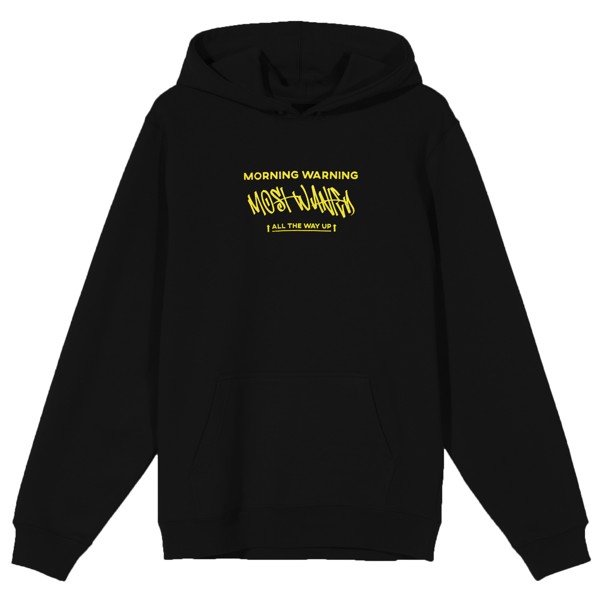 Most Wanted Basic Hoodie - Black
