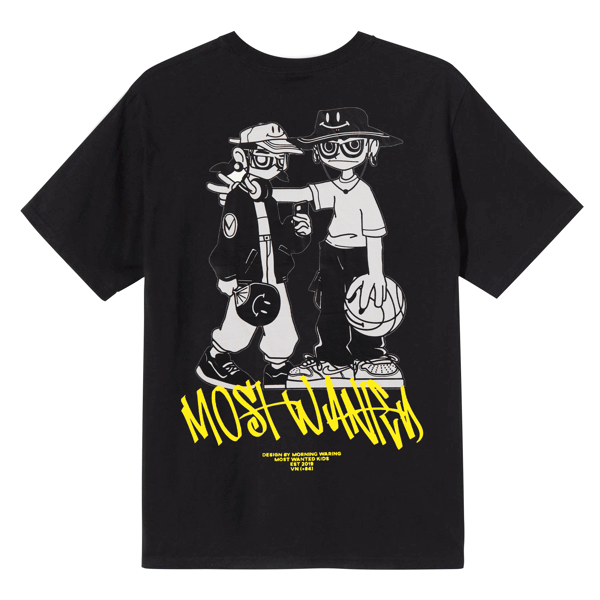Most Wanted Kids Tee - Black