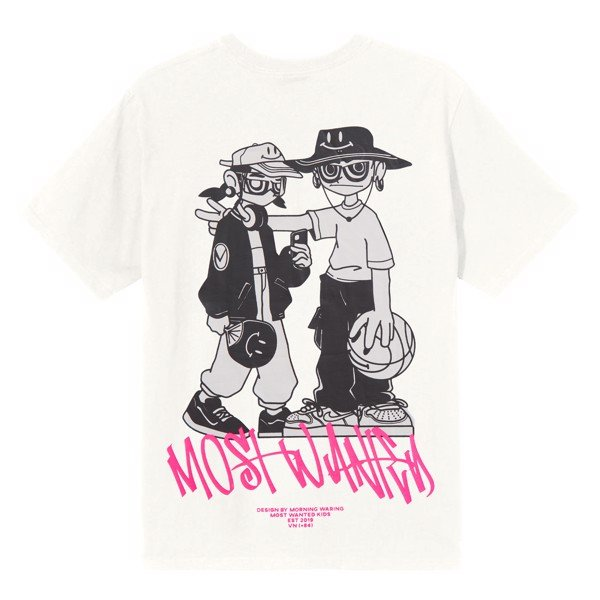 Most Wanted Kids Tee - White