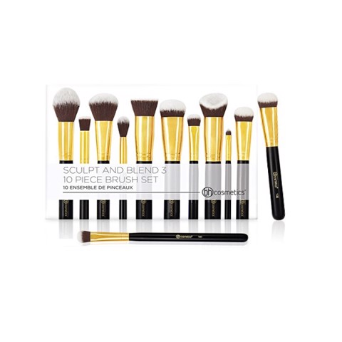 Bộ cọ BH Cosmetics Sculpt and Blend 10 Piece Brush Set