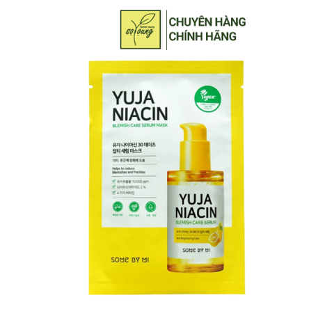 Mặt Nạ Some By Mi Yuja Niacin Blemish Care Serum Mask 25g