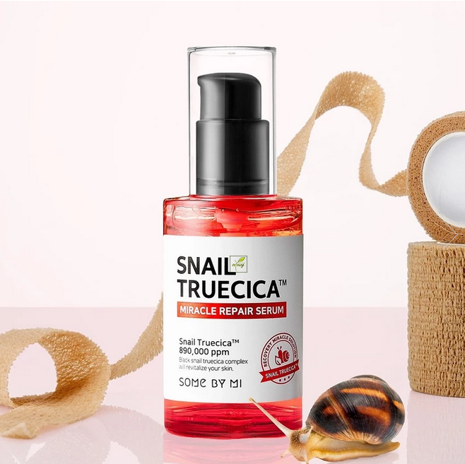 Tinh Chất Trị Sẹo Lõm Some By Mi Snail Truecica Miracle Repair Serum 50ml