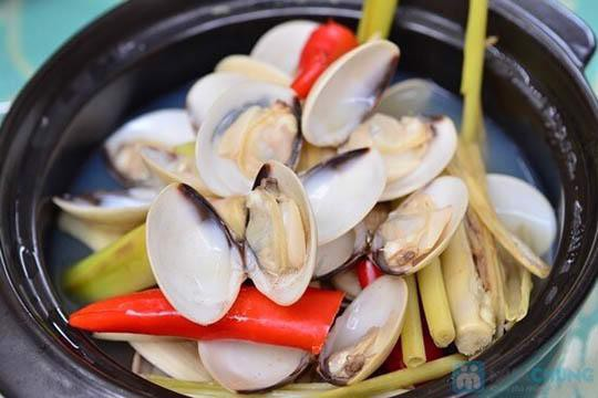 Steamed clam with lemon grass | Nghêu hấp xả