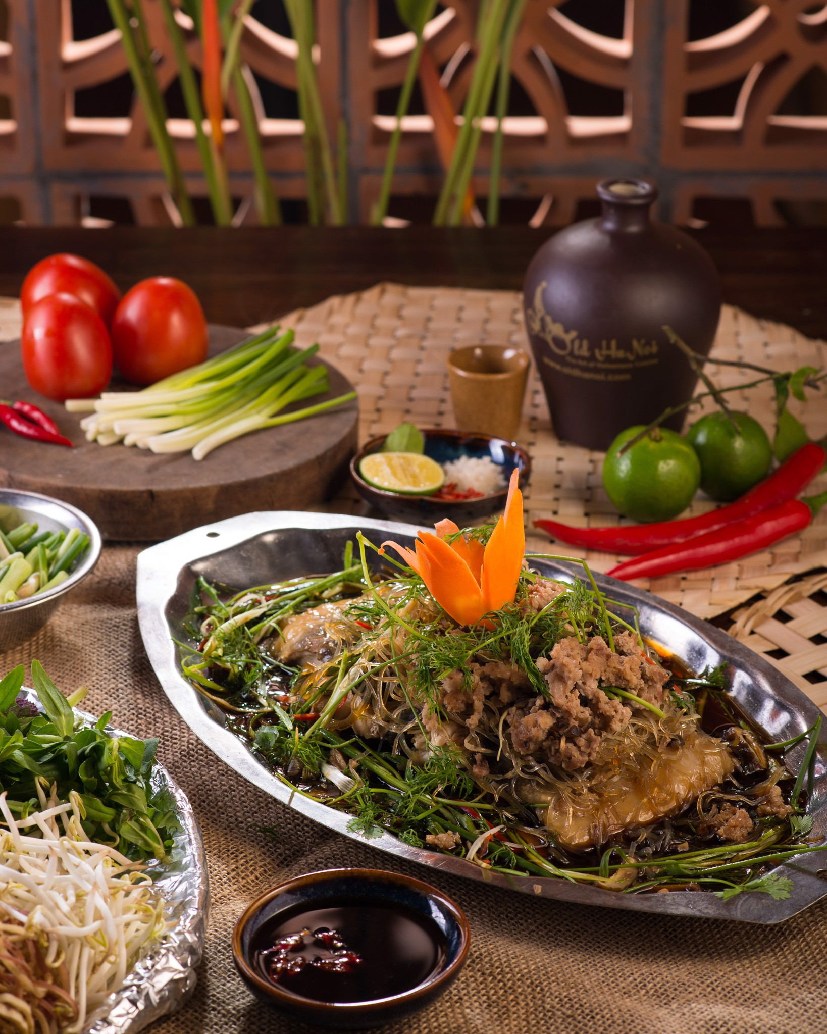Set menu Old Hanoi 1 (from 02 persons) - 400,000 vnd/person