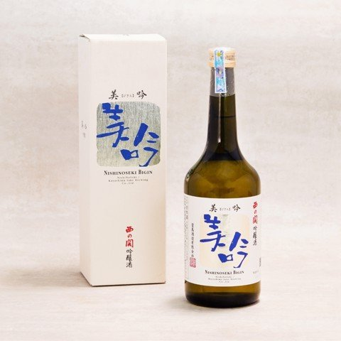 Rượu Sake Nishinoseki Bigin (720ml)