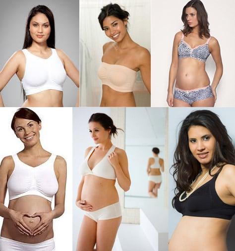Mẹ bầu có nên mặc áo ngực trong thai kỳ?