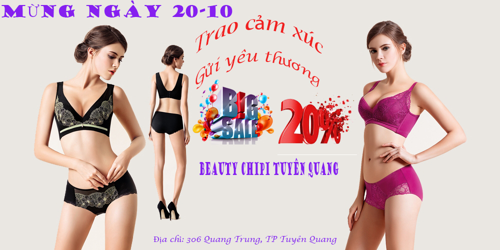 beauty chipi tuyen quang sale 20%