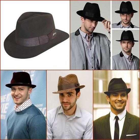 Cách đội mũ Fedora