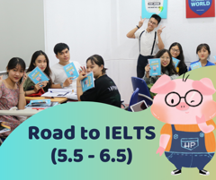 Road to IELTS (5.0 - 6.5)
