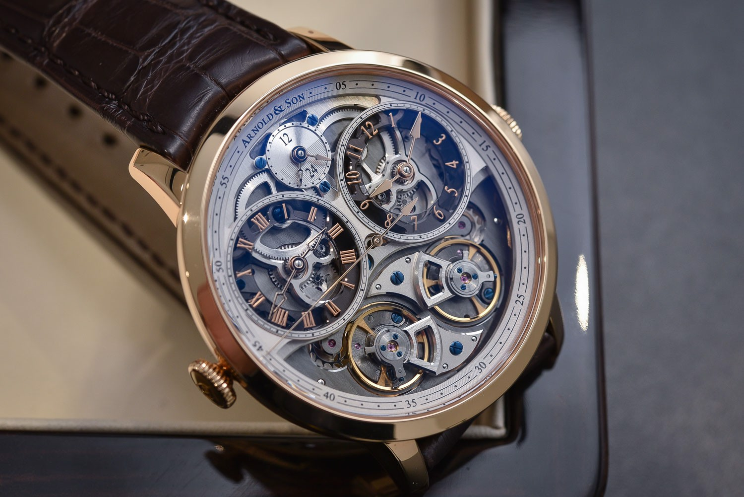 Arnold & Son Instrument DBG Skeleton 44mm