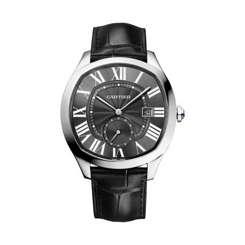 Cartier Drive De Cartier Steel Leather