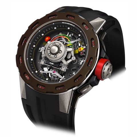 Richard Mille Men Watch RM 36-01 Manual Winding Tourbillon G-sensor Sébastien Loeb