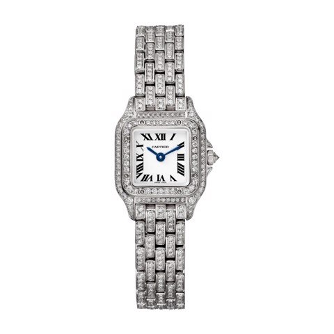 Cartier Panthère de Cartier Mini White Gold Diamonds