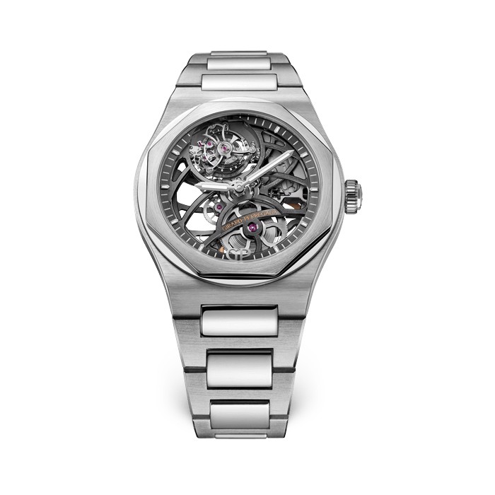 Girard Perregaux Laureato Flying Tourbillon Skeleton 99110-53-001-53A
