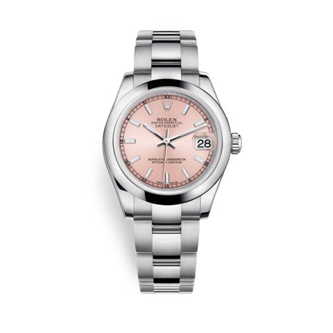 Rolex Datejust 31mm Stainless Steel and Pink Dial 178240-0028
