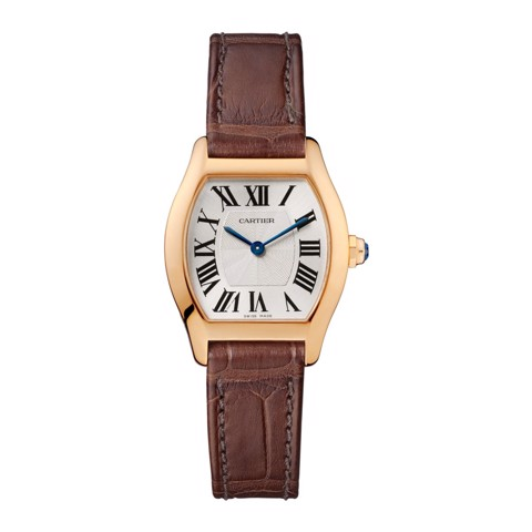 Cartier Tortue Small Pink Gold Leather