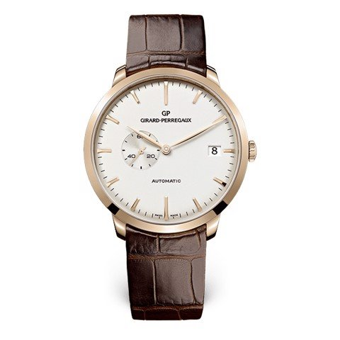 Girard Perregaux 1966 Date and Small Seconds 49543-52-131-BKBA