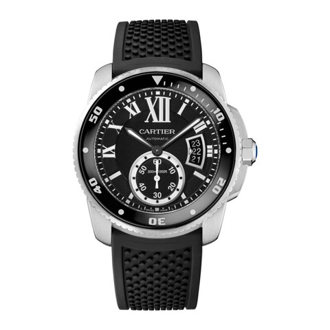 Cartier Calibre De Cartier Diver Steel Rubber