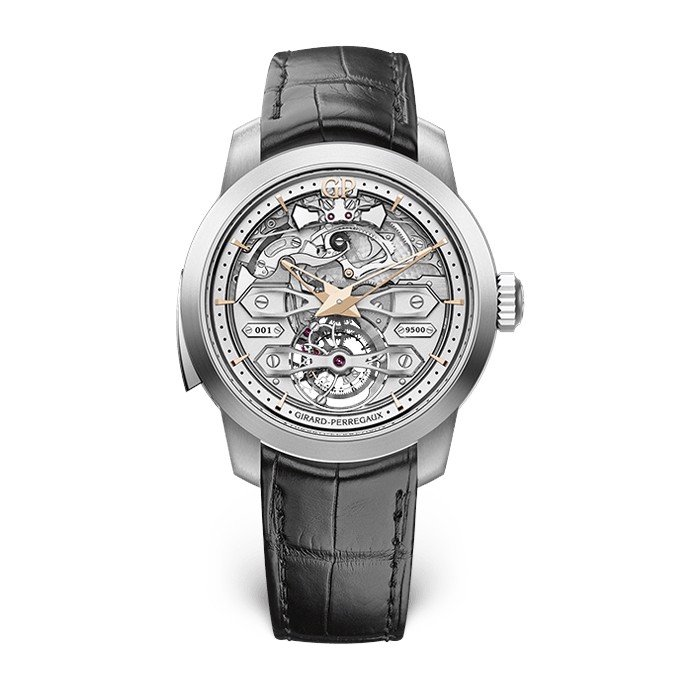 Girard Perregaux Bridges Minute Repeater Tourbillon Bridges 99820-21-001-BA6A